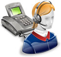 Central de llamadas de Transcose
